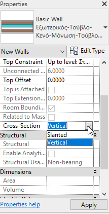 Revit 2021 slanted walls